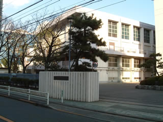 東京都立調布南高等学校写真1