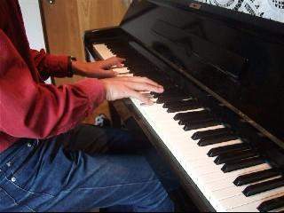 ピアノマン写真1